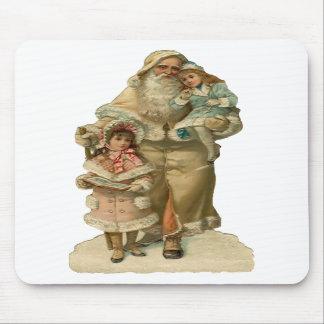 Navidad Mousepad del padre del vintage Tapete De Ratones