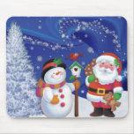 Navidad Mousepads Alfombrillas De Ratones
