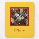 Navidad Mouspad de la paloma de la paz (Espíritu S Tapetes De Ratón