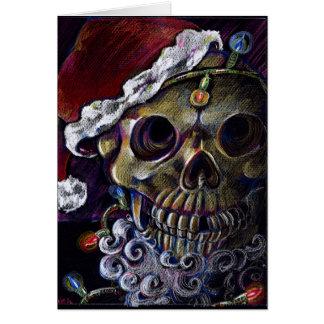 Navidad muerto tarjeta de felicitación