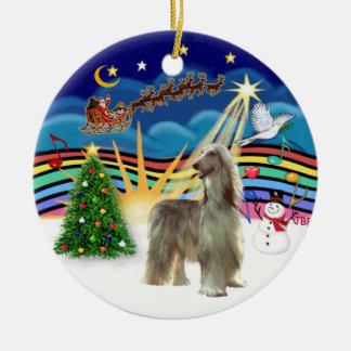 Navidad Music3 - Afgano Ornamento Para Arbol De Navidad