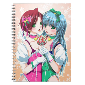 Navidad muy pegajoso cuaderno