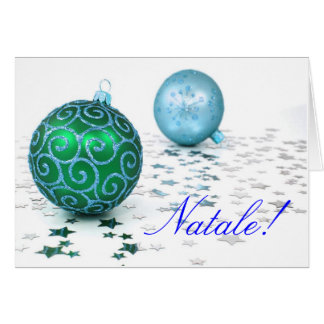 Navidad Natale II Tarjeta De Felicitación