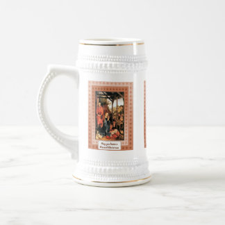 Navidad, natividad, taza