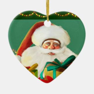 Navidad, navidad alegre feliz Ornam de Papá Noel Adorno De Reyes