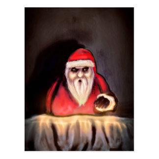 Navidad negra: Papá Noel está aquí Postales