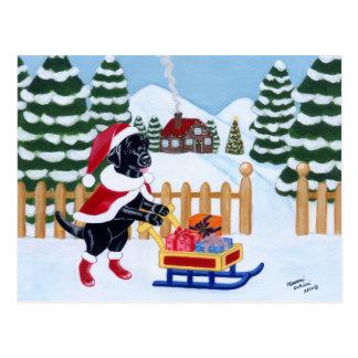 Navidad negro Santa de Labrador