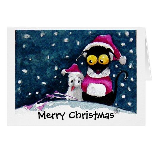 ¡Navidad Nevado! Tarjeta De Felicitación