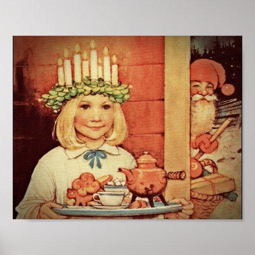 Navidad Nisse y día Karin de Lucía Impresiones
