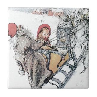 Navidad Nisse y Kirsti Tejas
