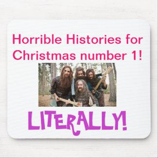 ¡Navidad número uno de HH! Alfombrillas De Ratón