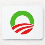 Navidad O de Obama Alfombrillas De Ratón
