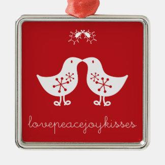 navidad Orname de los polluelos del muérdago del Ornamente De Reyes