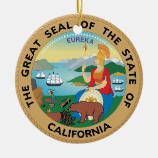 Navidad Ornament de California Ornamentos De Navidad