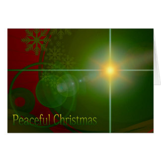 Navidad pacífico tarjetón