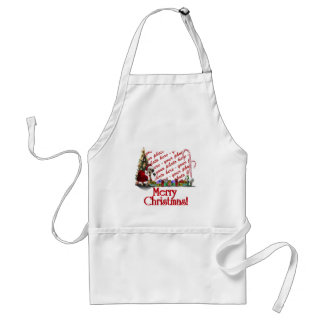 Navidad palmído delantal
