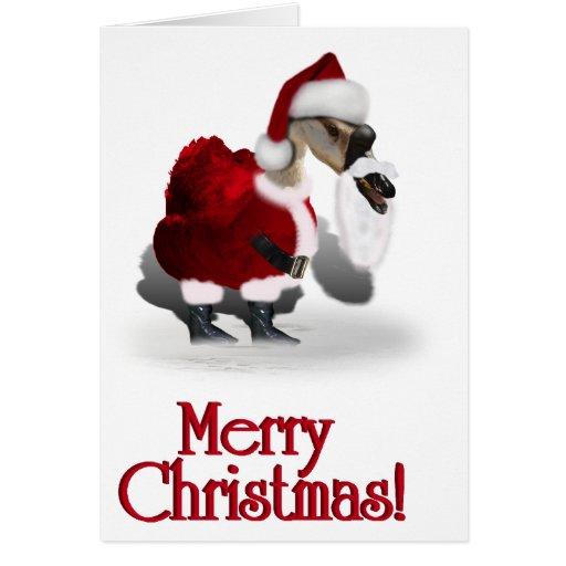 Navidad palmído tarjeta de felicitación