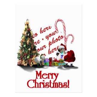 Navidad palmído postal