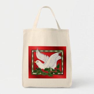 Navidad paloma y acebo