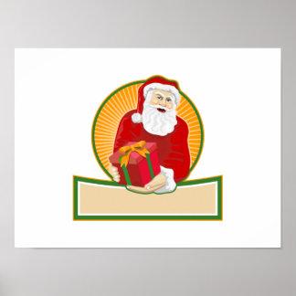 Navidad Papá Noel del padre Impresiones