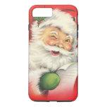 Navidad Papá Noel del vintage Funda iPhone 7 Plus