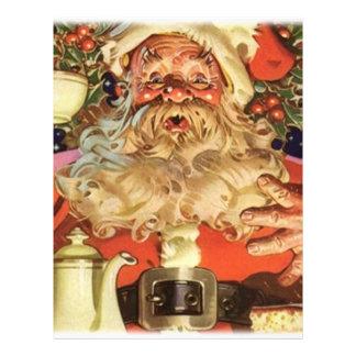 "Navidad Papá Noel Folleto 8.5"" X 11"""