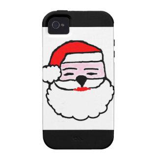Navidad Papá Noel iPhone 4 Funda