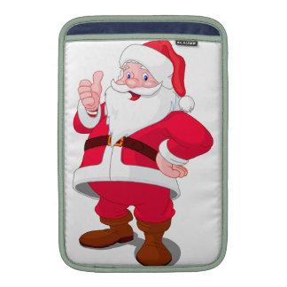 Navidad Papá Noel Fundas Macbook Air