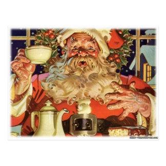 Navidad Papá Noel Postal