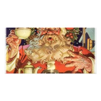 Navidad Papá Noel Tarjetas Fotográficas