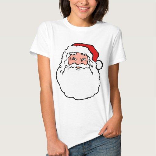 Navidad Papá Noel Tee Shirts