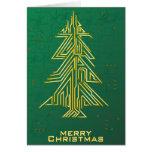 Navidad para los frikis tarjeta de felicitación