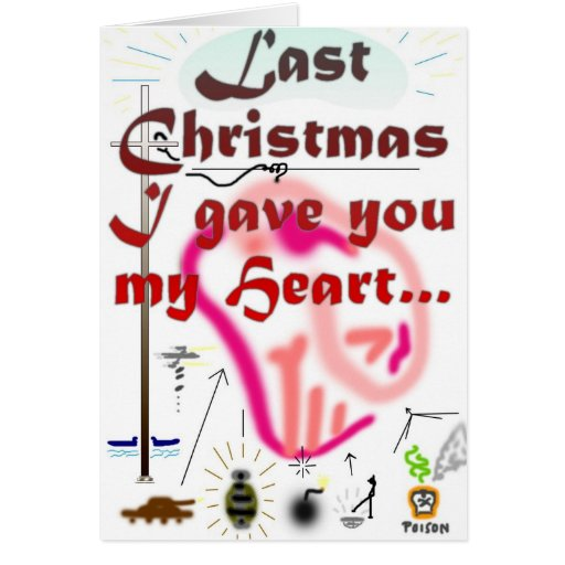 Navidad pasado… tarjeta de felicitación