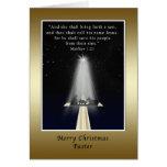 Navidad, pastor, religioso, natividad y cruz tarjetas