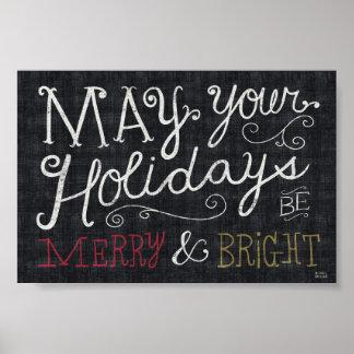 Navidad peculiar feliz y brillante impresiones