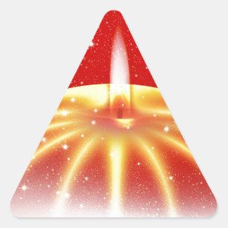 Navidad Pegatina De Trianguladas