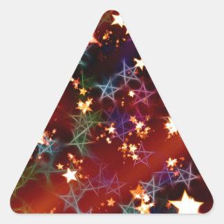 Navidad Calcomania Triangulo