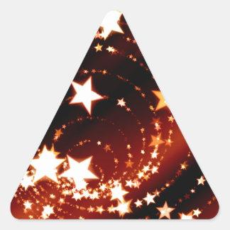 Navidad Calcomanías De Trianguladas
