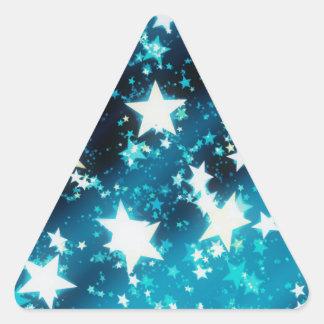 Navidad Pegatinas De Triangulo