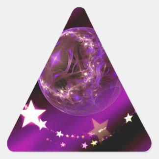 Navidad Calcomanías Trianguloes Personalizadas