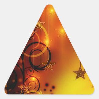 Navidad Pegatinas Trianguladas