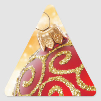 Navidad Pegatinas Triangulo Personalizadas