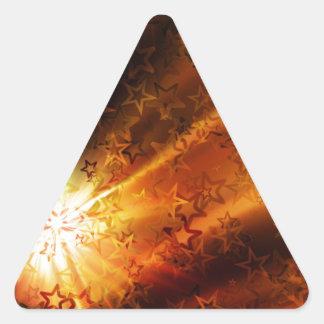 Navidad Calcomanía De Triangulo