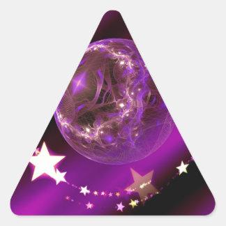 Navidad Calcomania Triangulo Personalizadas