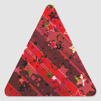 Navidad Pegatina Trianguloada