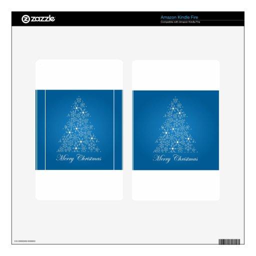 Navidad Pegatina Skin Para Kindle Fire