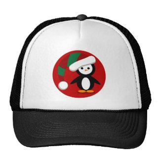 Navidad Penquin Gorros