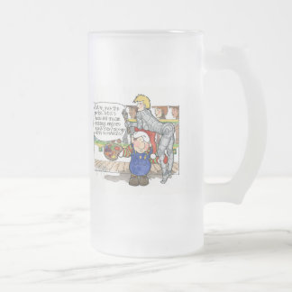 """Navidad """"pero no. 3 del sir"""" dibujo animado jarra de cerveza esmerilada"""