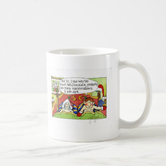"Navidad ""pero sir"" dibujo animado No.4 Taza Básica Blanca"