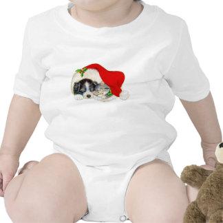 Navidad perro y gato trajes de bebé